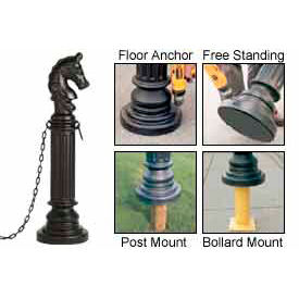 Traffic parking lot safety protectors bollard sleeves covers eagle decorative post - Decorative and safety bollards for your home ...