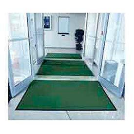 """Entryway Mat Lobbies Scraper 36"""" X 48"""" Green"""