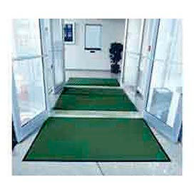 "Entryway Mat Inside Final Drying 36"" W Full 60' Roll Green"