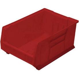Quantum Hulk Plastic Stacking Bin QUS974RD 16-1/2 x 29-7/8 x 11 Red