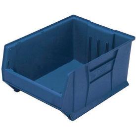 Quantum Hulk Plastic Stacking Bin QUS976BL 16-1/2 x 29-7/8 x 15 Blue