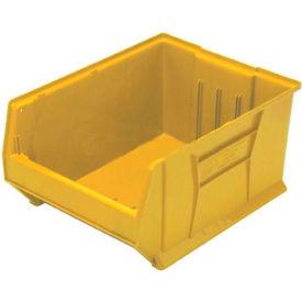 Quantum Hulk Plastic Stacking Bin QUS976YL 16-1/2 x 29-7/8 x 15 Yellow