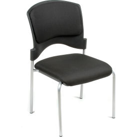 Stacking Chair - Fabric - Black - Brookville Collection - Pkg Qty 4