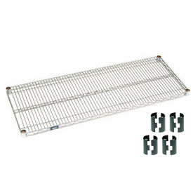 Chrome Wire Shelf 48 X 24 With Clips