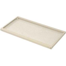 "Perforated Steel Shelf 48""W X 24""D"