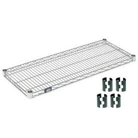 Nexel® Chrome Wire Shelf 36 x 18 with Clips