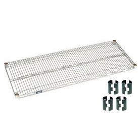 Nexel® Chrome Wire Shelf 72 x 18 with Clips