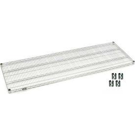 Nexel® Chrome Wire Shelf 72 x 24 with Clips