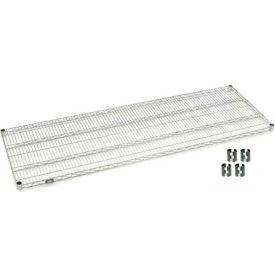 Chrome Wire Shelf 72x24 With Clips