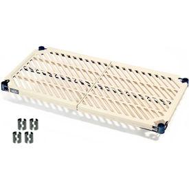 Vented Plastic Mat Shelf 42x24 Nexelon With Clips
