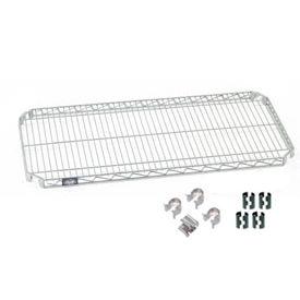 Nexel® Quick Adjust Shelf 36x14 with Clips & 4 Hooks