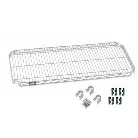 Nexel® Quick Adjust Shelf 36x24 with Clips & 4 Hooks
