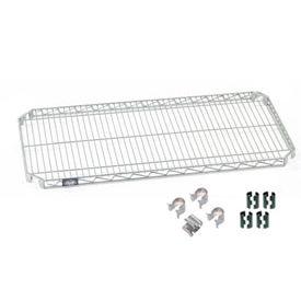 Nexel® Quick Adjust Shelf 48x14 with Clips & 4 Hooks