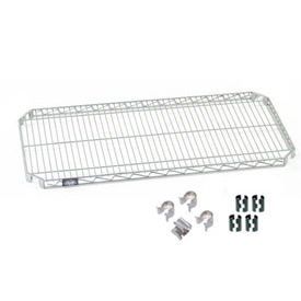 Nexel® E-Z Adjust Shelf 36x18 with Clips & 4 Hooks