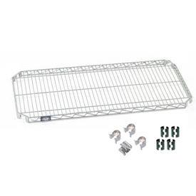 Nexel® E-Z Adjust Shelf 36x24 with Clips & 4 Hooks