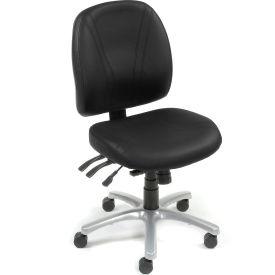 24/7 Anti-bacterial 8 Way Adjustable Chair - Black