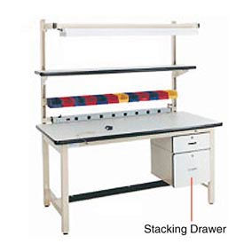 "12""H Lockable Stacking Drawer"