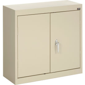 Sandusky Wall Cabinet WA21301230 Double Door - 30x12x30, Putty