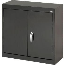 Sandusky Wall Cabinet WA21301230 Double Door - 30x12x30, Black