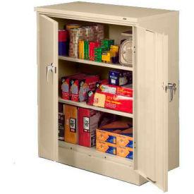 Sandusky Classic Series Counter Height Storage Cabinet CA21362442-07 - 36x24x42, Putty