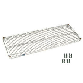 Chrome Wire Shelf 54x18 With Clips