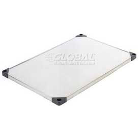 Stainless Steel Solid Shelf 24x48 With Clips