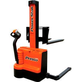 "PrestoLifts™ PowerStak™ Fully Powered Stacker PPS2200-62NAS 2200 Lb. 62"" Lift"