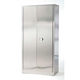 Stainless Steel Storage Cabinet 48 x 24 x 72