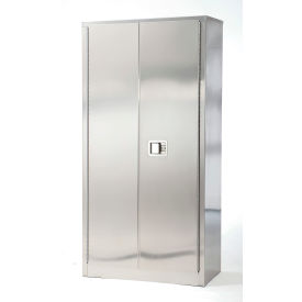 Stainless Steel Storage Cabinet 48 x 18 x 84