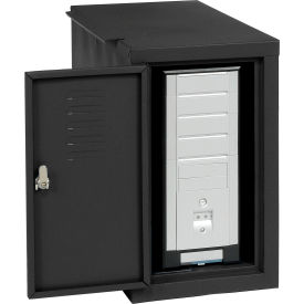 Computer Cabinet Side Car - Black