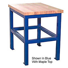 24 X 36 X 24 Standard Shop Stand - Maple- Black