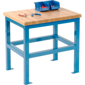 18 X 24 X 24 Standard Shop Stand - Maple - Blue