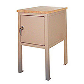 18 X 24 X 36 Cabinet Shop Stand - Maple - Blue