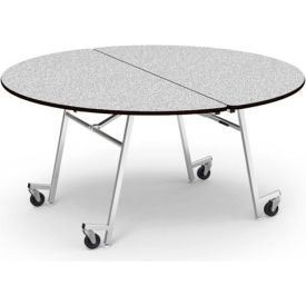 """Virco® 60"""" Round Cafeteria Table - Gray"""