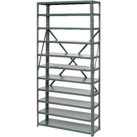 Steel Open Shelving 6 Shelves No Bin - 36x12x39