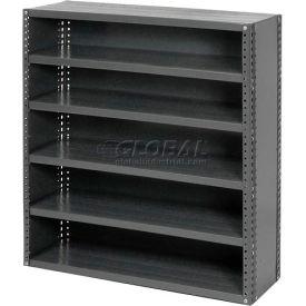 Steel Closed Shelving 10 Shelves No Bin - 36x18x73