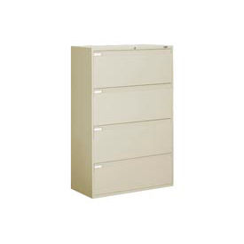 "42""W 4 Drawer Binder Lateral File - Putty"