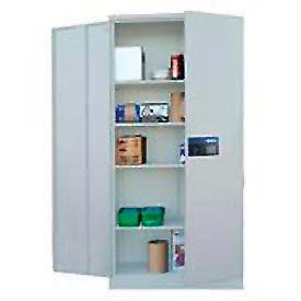 Sandusky Snapit Keyless Electronic Storage Cabinet KDE7824 Easy Assembly - 36x24x78, Light Gray