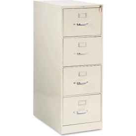 "28-1/2"" 4 Drawer Vertical File - Legal - Putty"