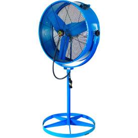 """Airmaster Fan 60031 30"""" Evaporative Blower Pedestal Fan 8800CFM"""