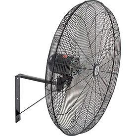 TPI CACU30W,30 Inch Wall Mount Fan Non Oscillating 1/4 HP 4200 CFM 1 PH