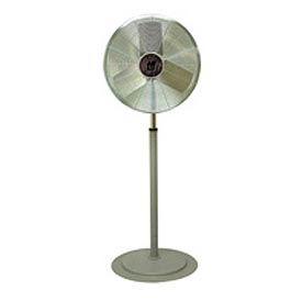 Tpi Cacu30p 30 Inch Pedestal Fan Non Oscillating 1 4 Hp 4 200 Cfm 1 Ph