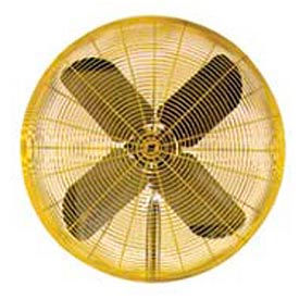 TPI 30 Fan Head Non Oscillating Yellow HDH30 1/2 HP 9850 CFM