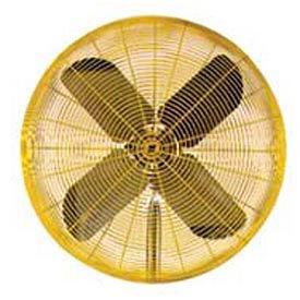TPI 30 Fan Head Non Oscillating Yellow HDH30-JR 1/2 HP 9850 CFM