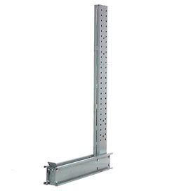 """Cantilever Rack Single Sided  Upright, 14' H x 76""""  D 14600, Lbs Capacity"""