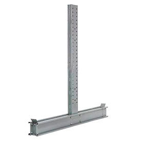 """Cantilever Rack Double Sided  Upright 12' H x 84""""  D 43800, Lbs Capacity"""