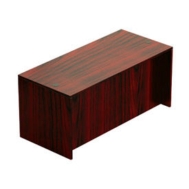 "Offices To Go™ Desk Shell - 66"" x 30"" - Mahogany"