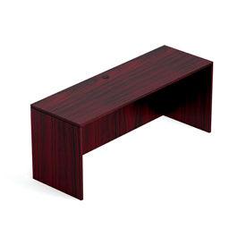 71 Inch Credenza Shell in Mahogany - Executive Modular Furniture