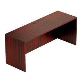 66 Inch Credenza Shell in Mahogany - Executive Modular Furniture