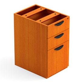 3 Drawer Pedestal in Medium Cherry - Executive Modular Furniture
